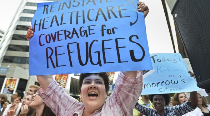 Healthcare is for saving lives not for deterring refugees
